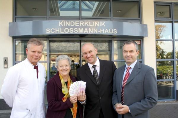Walgenbach Düsseldorf gesundheit in düsseldorf archive große freude über die spende
